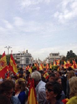 Manifestaciones politizadas. Por@MylesBo